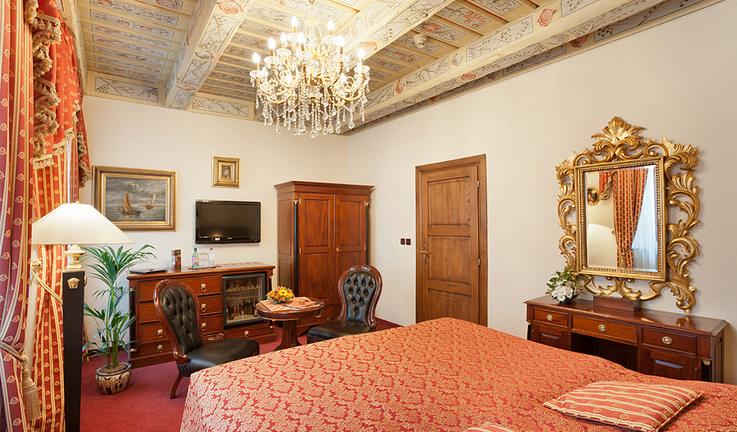 Luxusní ubytování v historickém centru Prahy