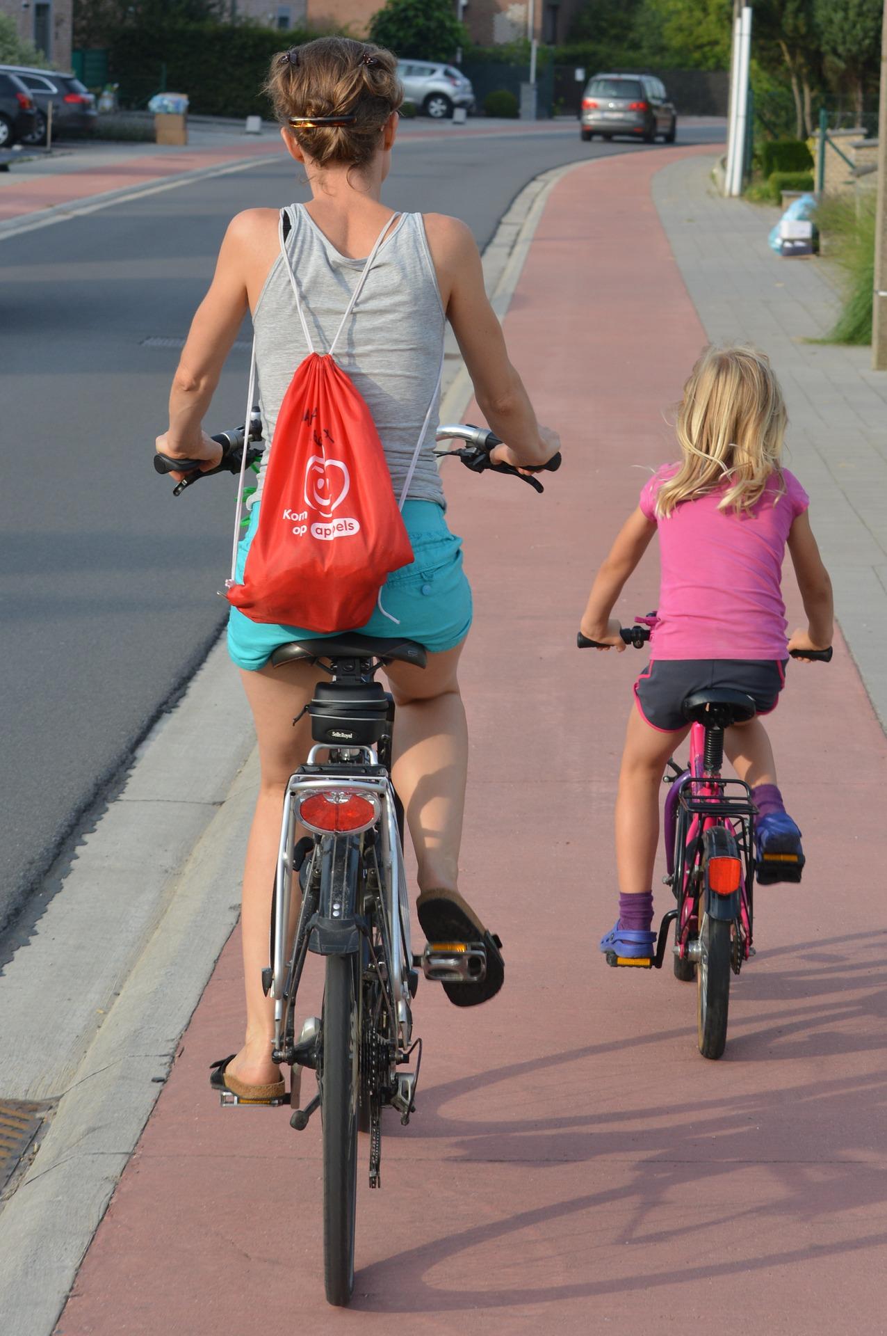 Neohrožujte své dítě při jízdě na kole!