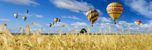 Skutečné dobrodružství v balonu
