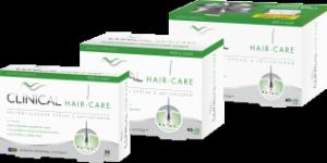 Trápí vás vypadávání vlasů? Vyzkoušejte vlasovou výživu Clinical Hair Care
